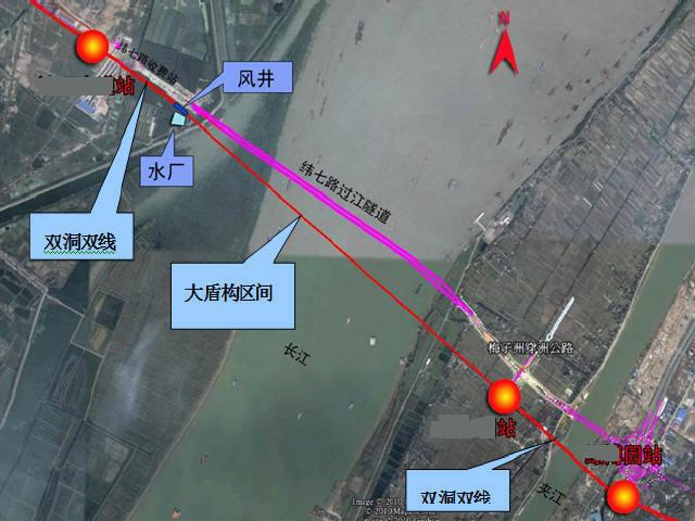 [江苏]过汇段盾构地铁区间工程地下三层中间风井图纸116张CAD(含通风空调给排消防照明)