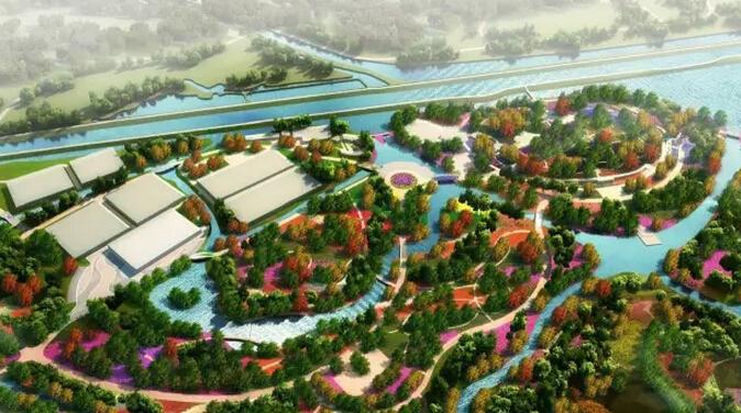 森林公园车行桥景观设计方案(一套)