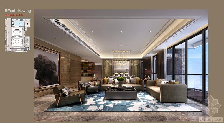 室内设计家装工装施工图及设计方案精品汇总_10