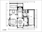 [福州]欧式4层别墅设计施工图(含效果图)