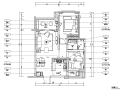 (含效果图)现代简约两室一厅样板房全套装修施工图