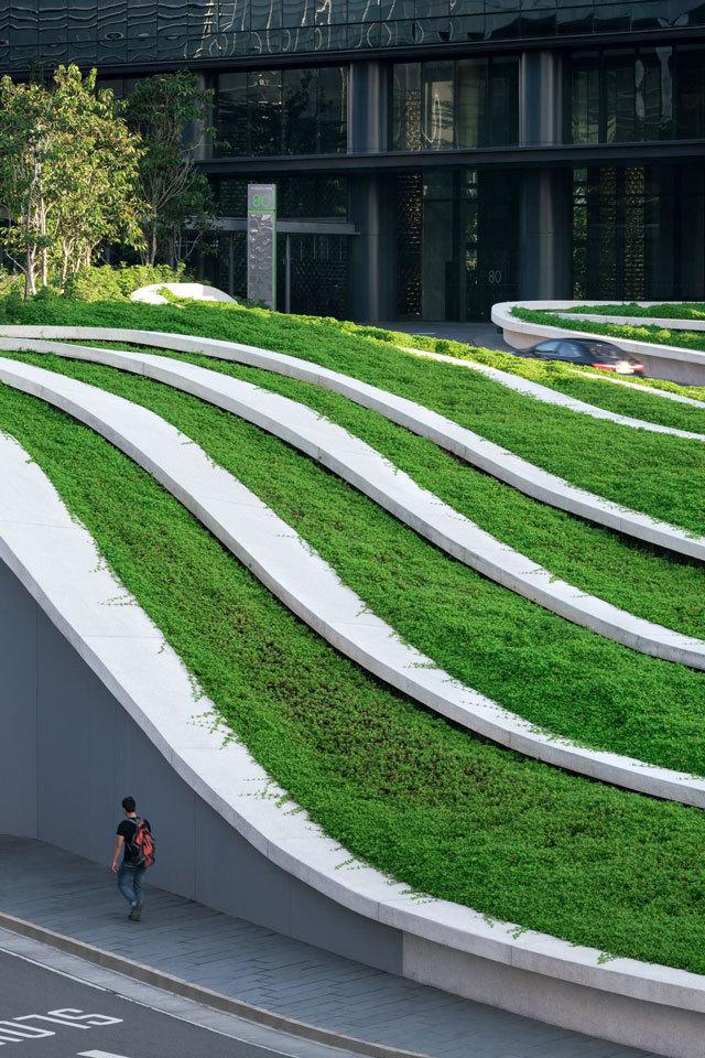 8-新加坡Comtech商业园区景观设计第8张图片