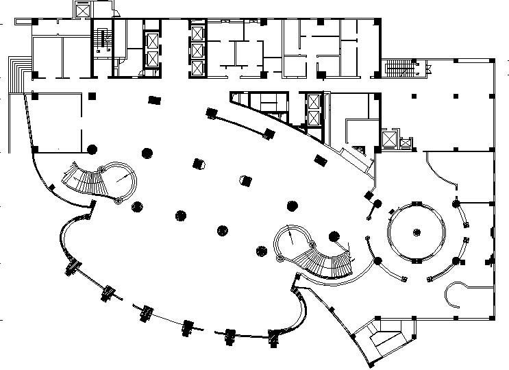 [四川]成都万达索非特酒店设计施工图+效果图