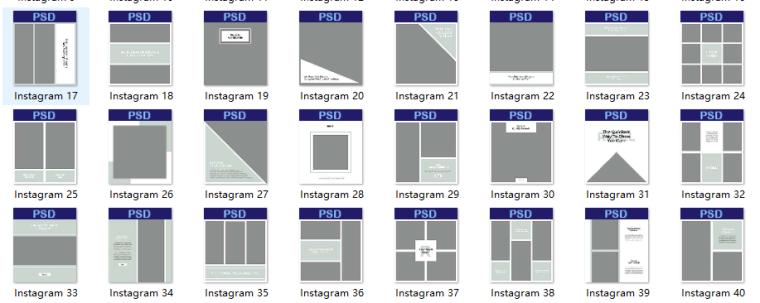 120个图文排版PSD模板(含:横版,竖版,ps字体)2_2