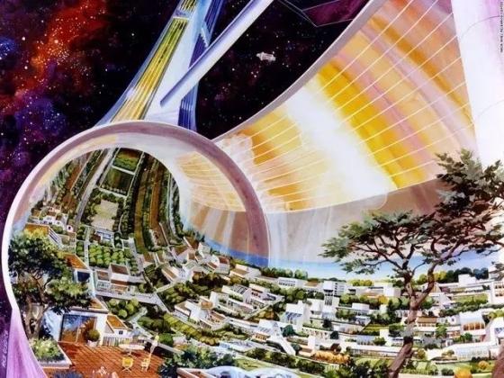 景观设计进军太空站将会是什么样?
