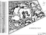 海丰某游园景观设计平面总图