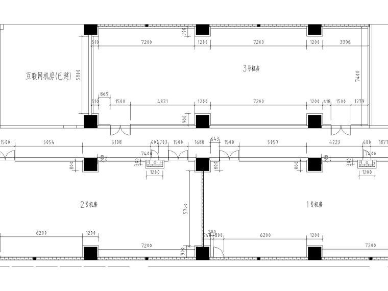 UPS系统设计资料下载-[机房]某数据备份中心机房全套施工图(按A级机房设计)