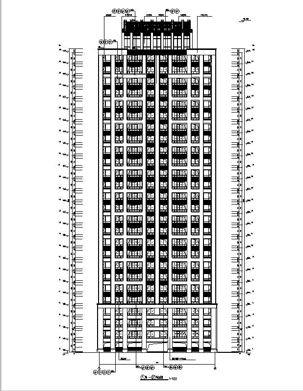 助理剪力墙图纸格式:施工图深度框架:浙江位置图纸:天正7,cad2000cad项目工作内容图片