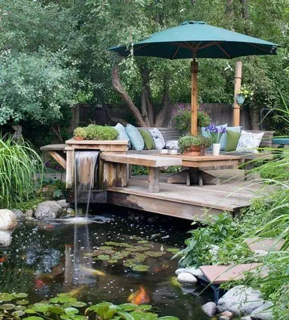 庭院 · 鱼池