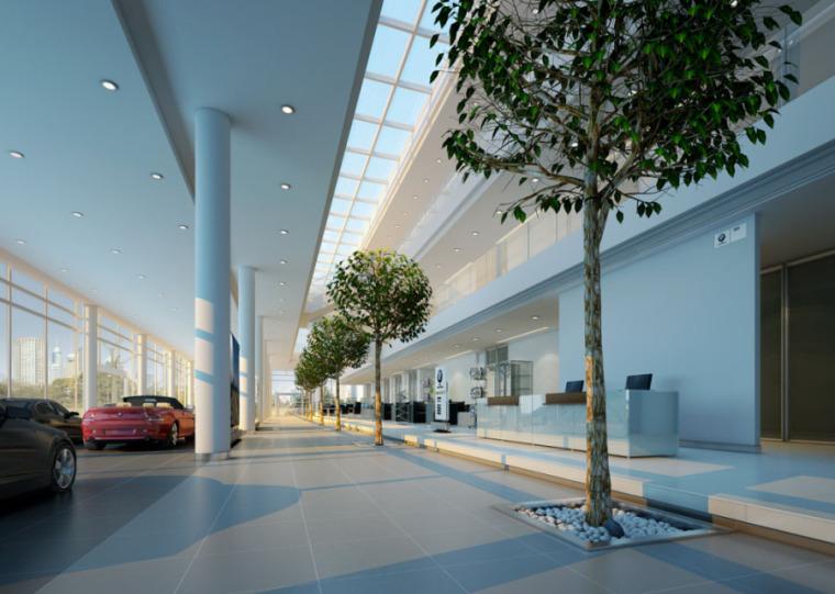 (原创)汽车4S店室内设计案例效果图-汽车4S店 (19)