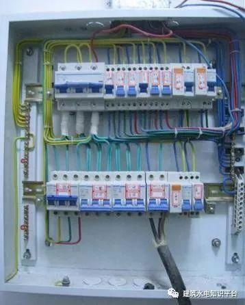 建筑电气工程施工质量通病和解决方法(现场施工图片解说)_36