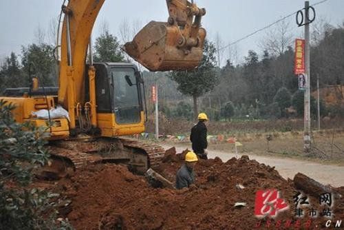 [广西]梧州藤县医院周围排水管施工组织设计