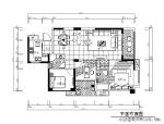 现代简约样板房设计CAD施工图(含效果图、实景图)