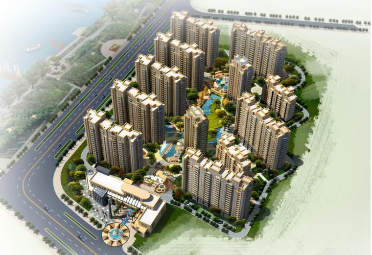 [安徽]滁州高规格典雅居住区景观设计方案(地中海风情)
