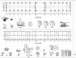 12米跨门式钢架与桁架钢结构