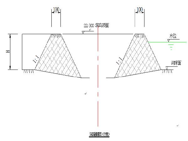 天仙南路景观桥施工组织设计(Word版84页)