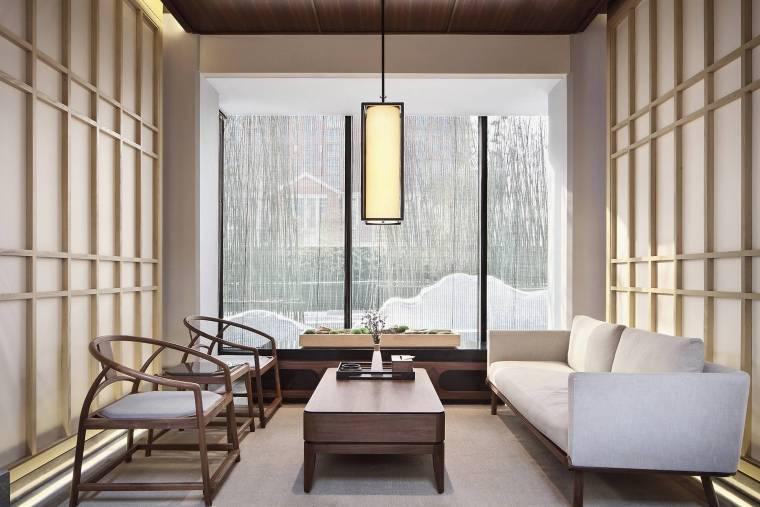 [郑州]永威·南樾新中式售楼处实景效果图24P