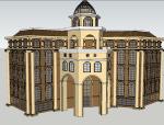 酒店及商业建筑模型设计