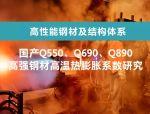国产Q550、Q690、Q890 高强钢材高温热膨胀系数研究