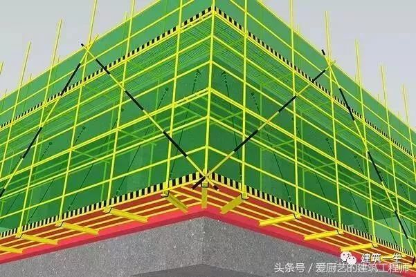 悬挑式脚手架施工流程