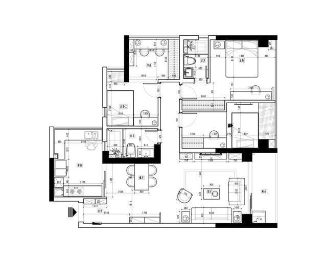 趣味公寓迷人简约风_1