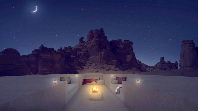 沙特阿拉伯海市蜃楼沙漠酒店-1 (2)