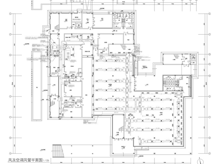 [江苏]多层学生教工餐厅空调通风及防排烟系统施工图(自动控制)