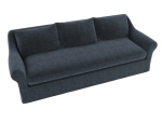 灰色三人沙发3D模型下载
