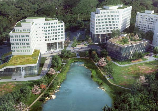 [山东]中德文化设计生态园景观方案设计