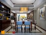 新中式风格的住宅室内设计效果图