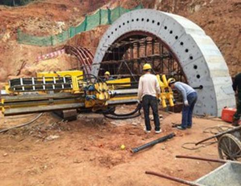 隧道超前管棚支护类型及施工技术要点