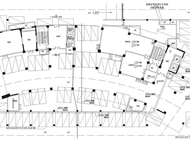 高层、大面积办公楼83张图建筑电气施工说明