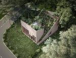 Penda 打造'阴阳住宅',以自给自足建筑模式推进可持续的发展