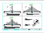 桥梁斜拉索施工步骤图