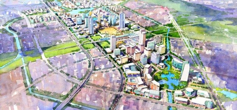 (RTKL)无锡市锡东新城商务核心区城市设计完整PDF(118页)