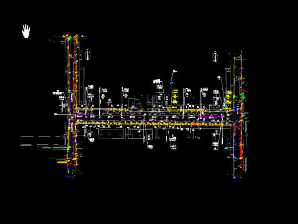 工业园区截污管网工程施工图119张(工艺图结构图广东)_dwg