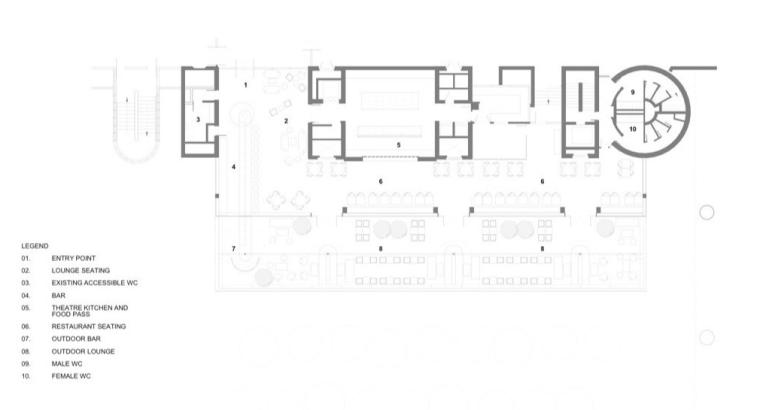 BarbicanFoodhallandLounge餐厅室内设计方案