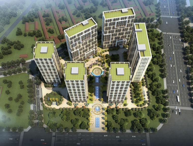 [河北]天华香河居住区建筑设计文本