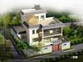 3层农村房屋图纸带效果图
