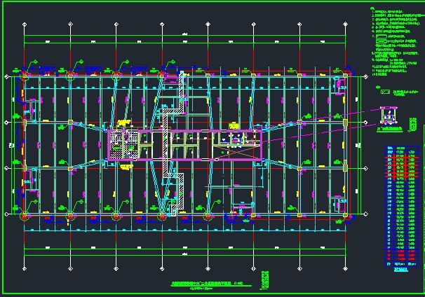 25层华润框架核心筒商业办公楼结构施工图_2