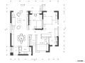 [武汉]复地东湖国际两居室设计施工图及效果图