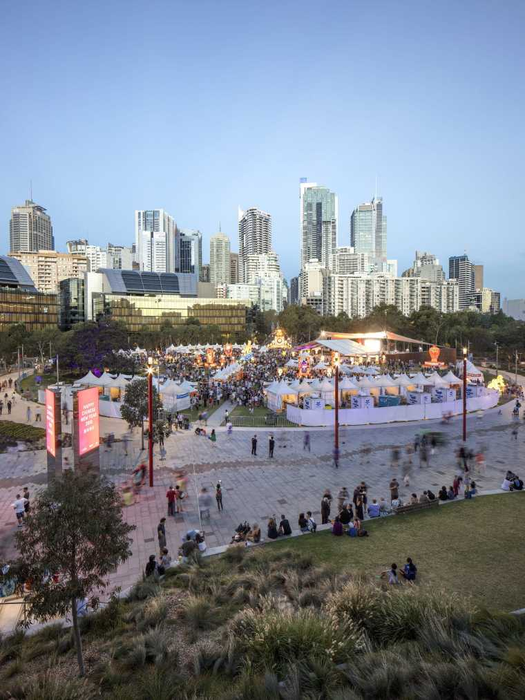 悉尼达令港公共空间-17