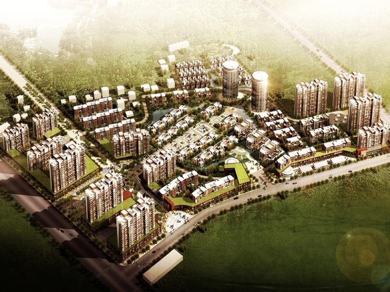 [江苏]无锡天奇居住区规划建筑设计方案文本(PDF+CAD+SU)
