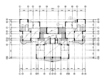 10层框架剪力墙结构住宅楼结构施工图(CAD、18张)