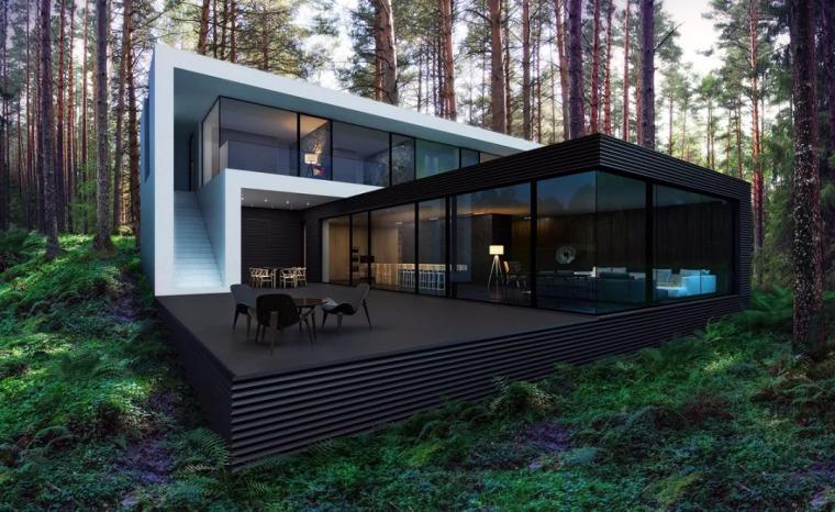 我想在农村盖套这样的房子!