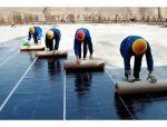 防水卷材施工方法及注意事项