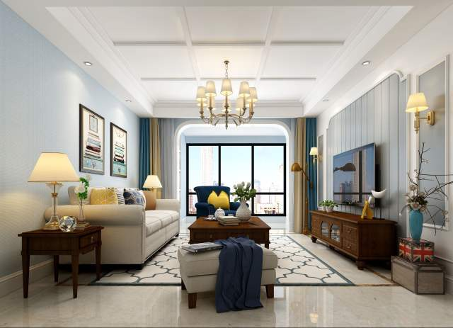 不同feel的客厅,你会pick哪一款?_9