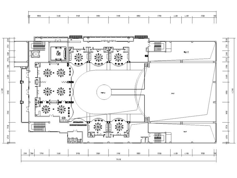 [广东]中山梦幻之城住宅样板房平面布置图