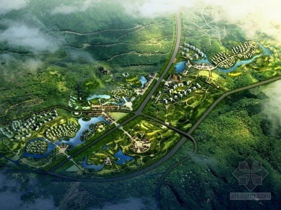 [成都]生态化主题旅游度假区规划设计方案文本(高端低碳)