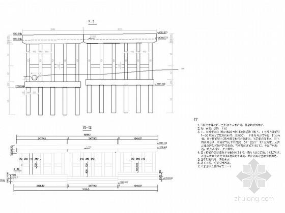 [贵州]35m预应力混凝土简支箱梁桥施工图119张附计算书189页